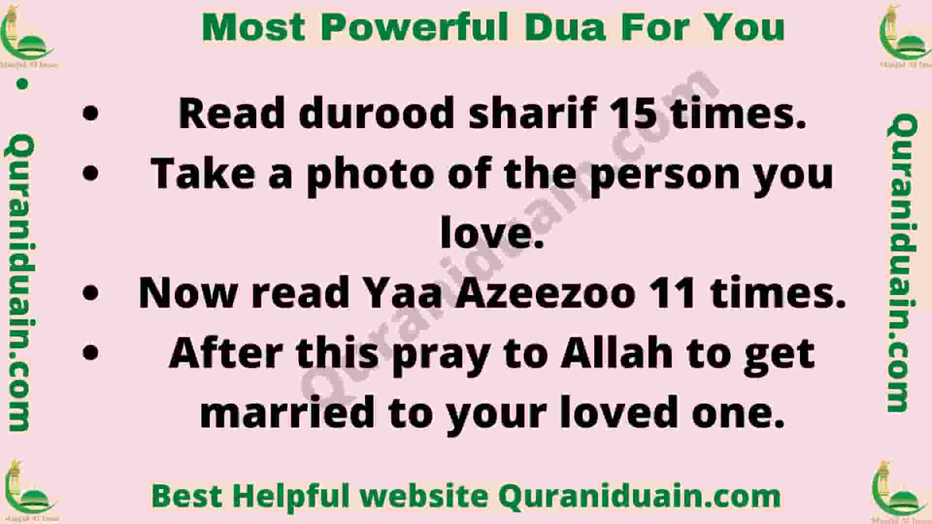 Most Powerful Dua For You